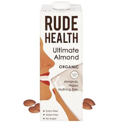 Rude Health Organic Dairy Free Drink Ultimate Almond 1L Front