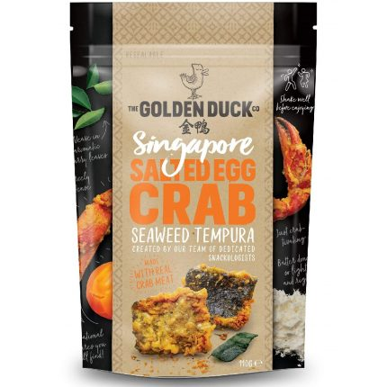 Salted Egg Crab Seaweed Tempura 38g Front