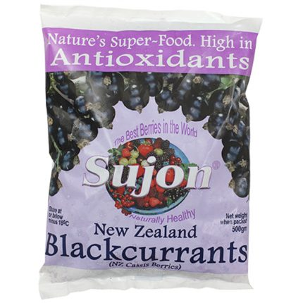 Sujon Black Currants 500g Front