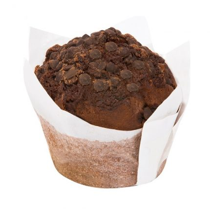 The Flour Shop Chocolate Chip Muffin Back