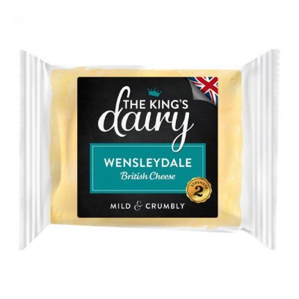The King's Dairy Wensleydale 200g Front