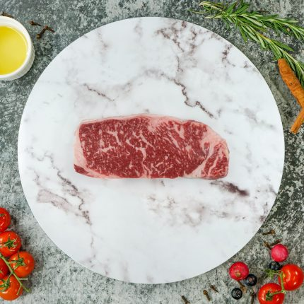 Australia Wagyu Beef Striploin Steak MB8-9 Front