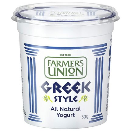 Farmers Union Natural Yogurt Greek Style 500g