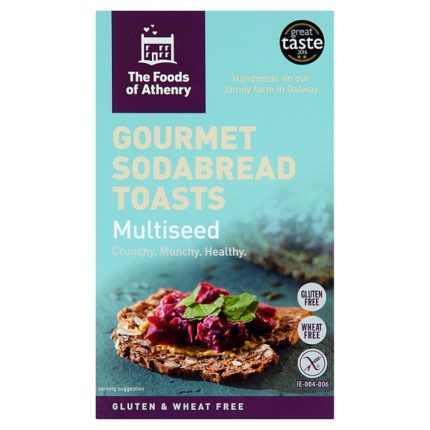 Foods of Athenry Gluten Free Multi Seed Toast Box Front