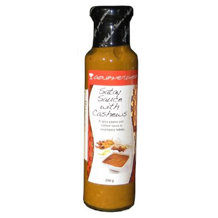 Gourmet Chef Cashew Satay Sauce 250g Front