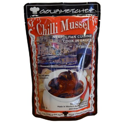 Gourmet Chef Chilli Mussel Sauce 450g Front
