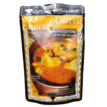 Gourmet Chef Korma Curry Sauce 450g Front