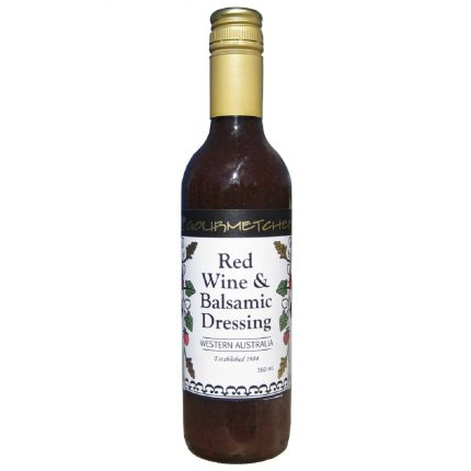 Gourmet Chef Red Wine & Balsamic Dressing 360g Front