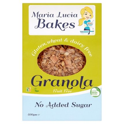 Maria Lucia Bakes New Keto Certified Granola Front