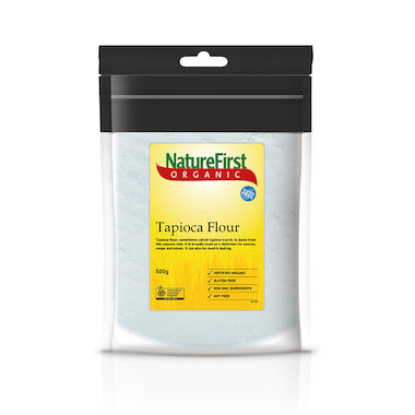 Nature First Organic Tapioca Flour 500g