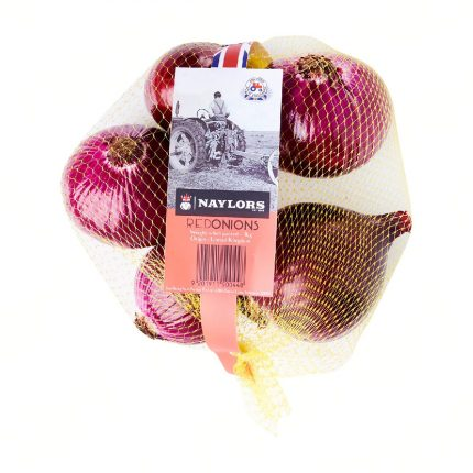 Naylors Red Onion 1kg Front