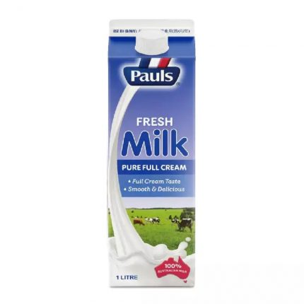 Paul's Fresh Full Cream Milk 1L Front