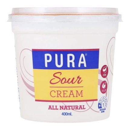 Pura Full Fat Sour Cream 400g