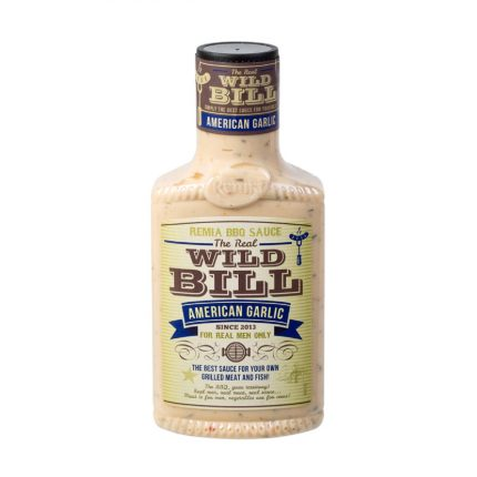 Remia BBQ Sauce - Wild Bill American Garlic 450ml Front