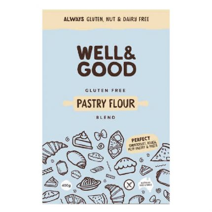 Well & Good Pastry Flour Blend 400g Front