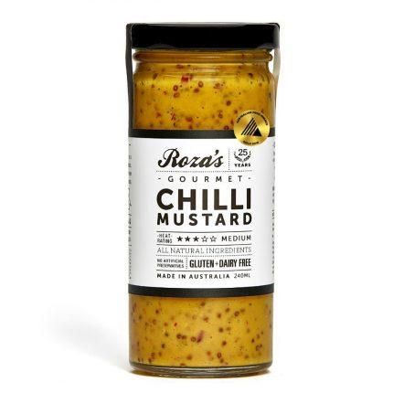 Rozas Chilli Mustard 240ml