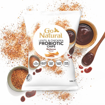 Go Natural Probiotic Chips Barbecue 100g