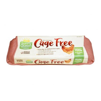 Sunny Queens Cage Free Eggs X Large 12's 700g