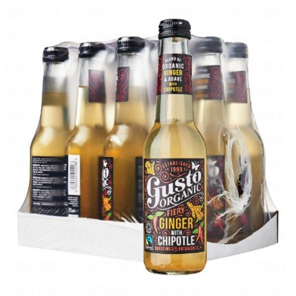 Gusto Organic - Ginger with Chipotle - Case