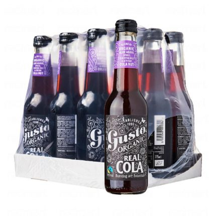 Gusto Organic - Real Cola-Case