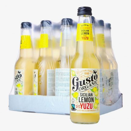 Gusto Organic - Sicilian Lemon with Yuzu - Case