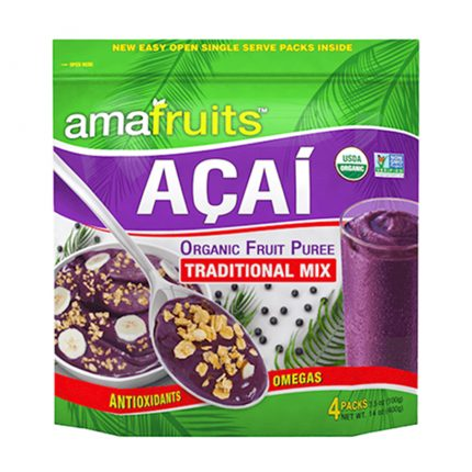 acai fruit puree traditional mix