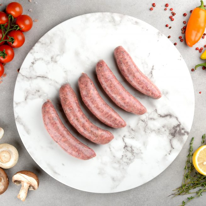 Carbon Neutral Italian Beef Sausage