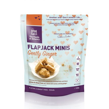 The Food of Athenry Gently Ginger Flapjack Minis
