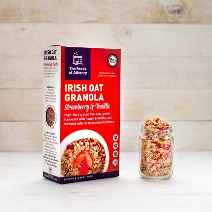 The Foods of Athenry Irish Oat Granola Strawberry Vanilla