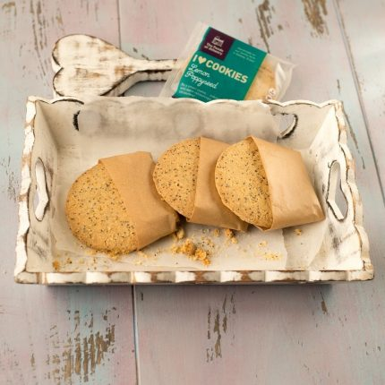 The Foods of Athenry Lemon Poppyseed Cookie