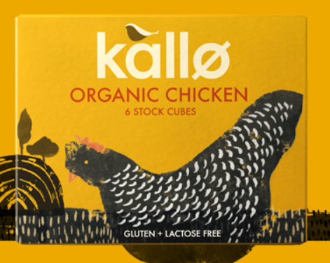 Kallo Organic Chicken Stock Cubes (66g)