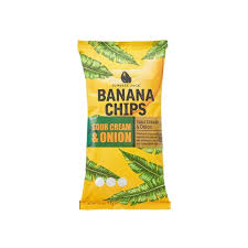 Banana chips sour cream and onion