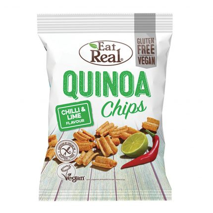 Eat Real Quinoa Chilli & Lime Chips 80g