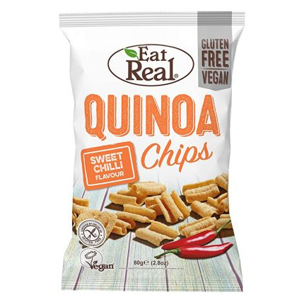 Eat Real Quinoa Sweet Chilli Chips 80g