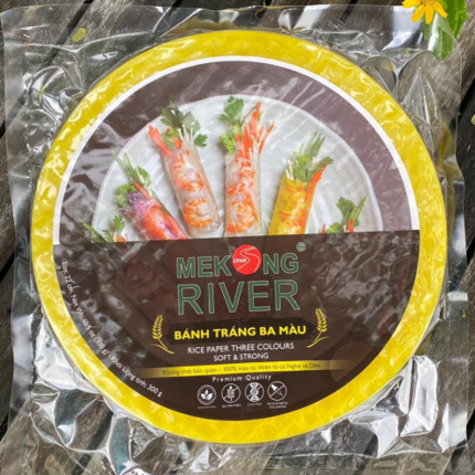Mekong River Rice Paper 22cm (3-in-1)  300g