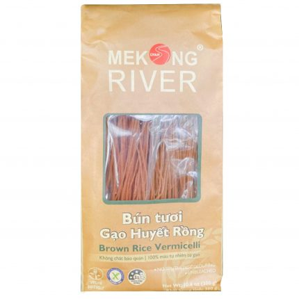 Mekong River Rice Vermicelli (brown rice) 300g